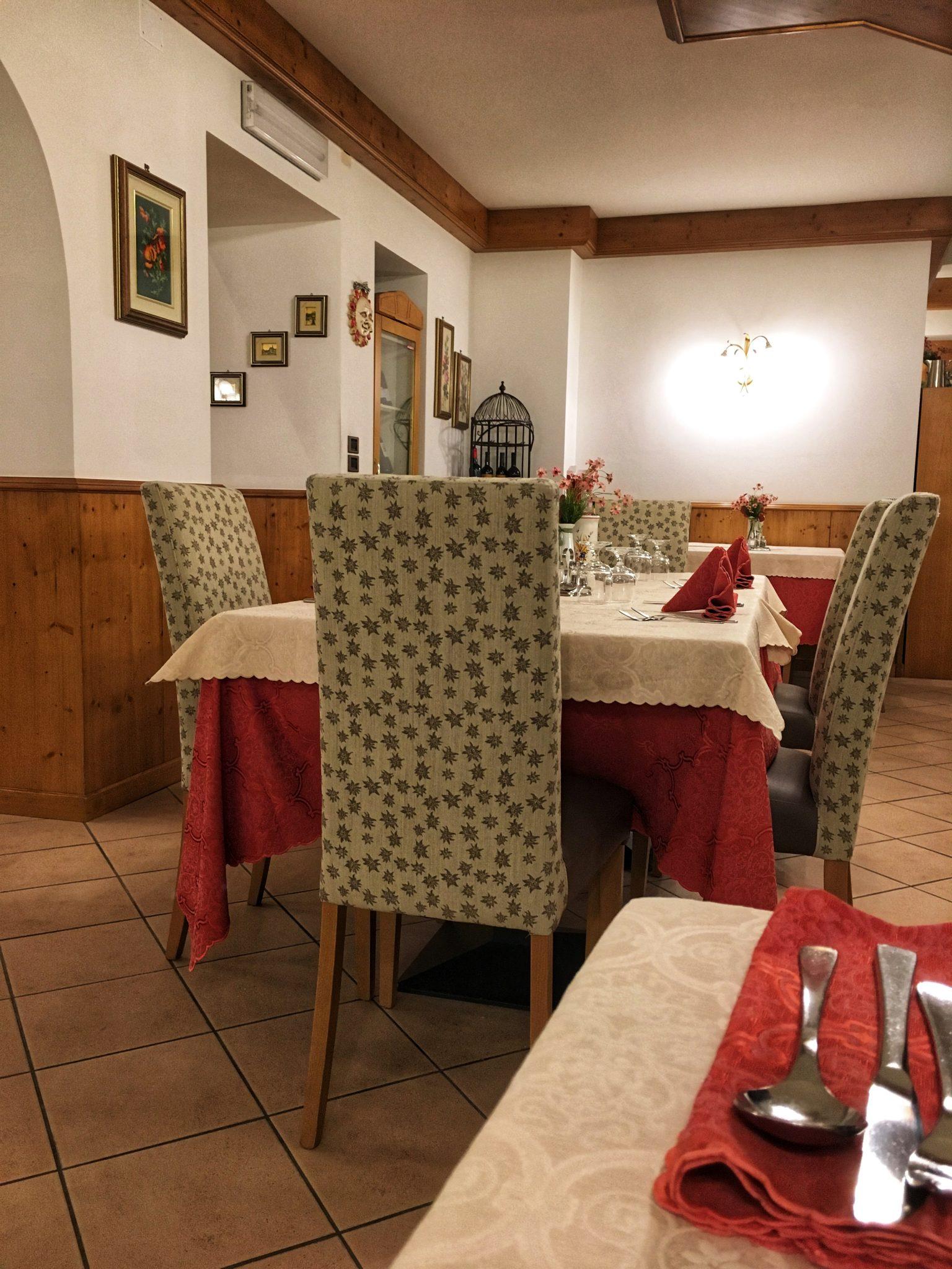 hotel bertoldi ristorante