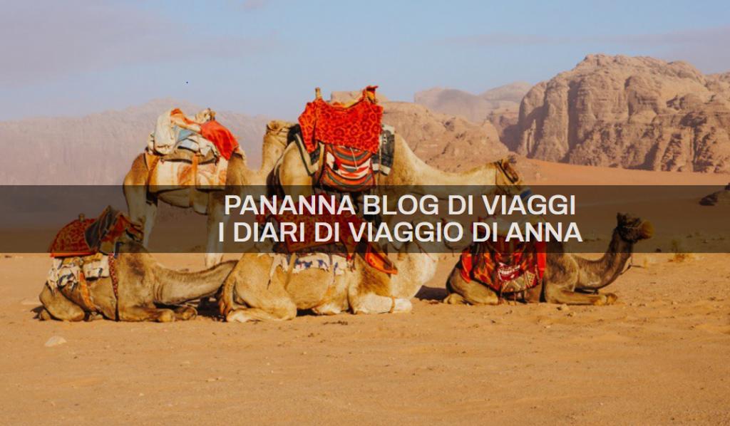 copertina intervista panannablogdiviaggi con cammelli sullo sfondo