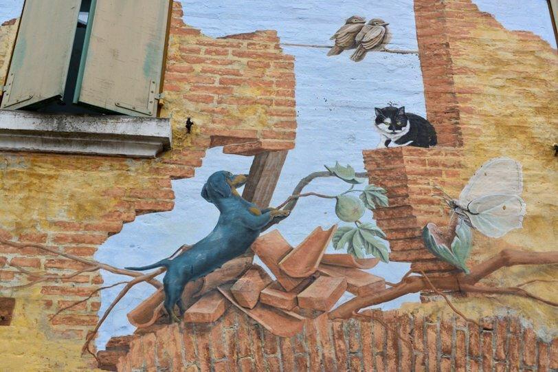 borghi e street art