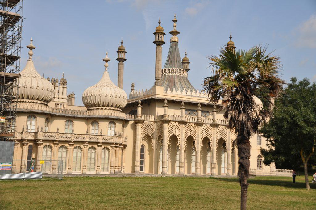 il royal pavilion di brighton, sud inghilterra