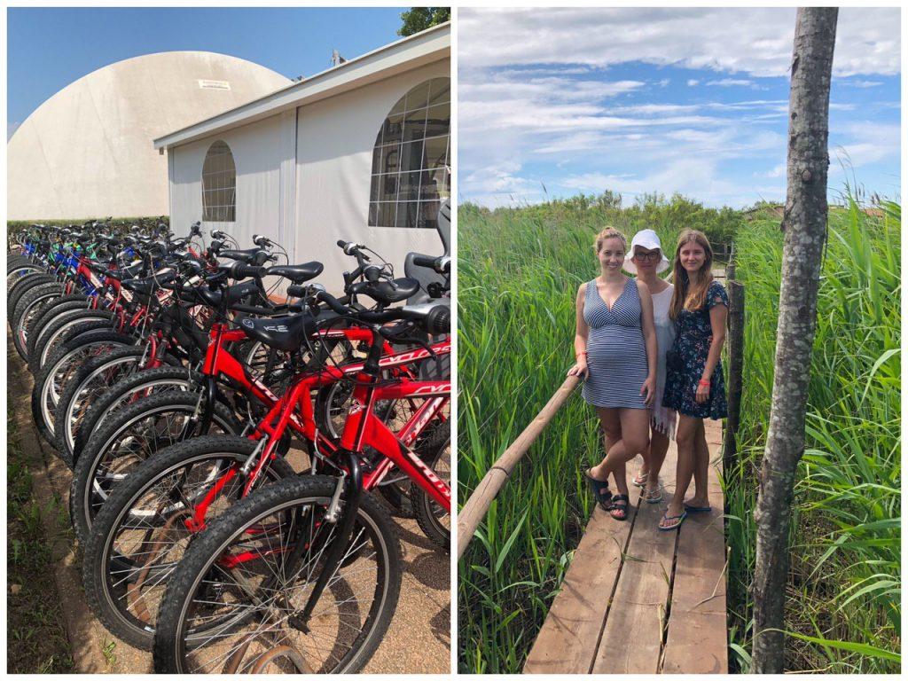 biciclette a noleggio sul delta del po