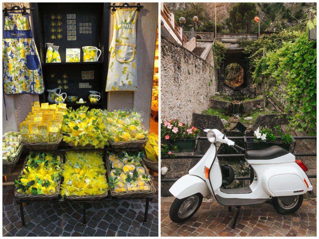 negozio di souvenir a limone sul garda