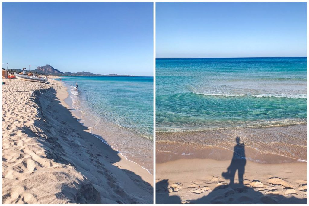spiaggia azzurra sud sardegna